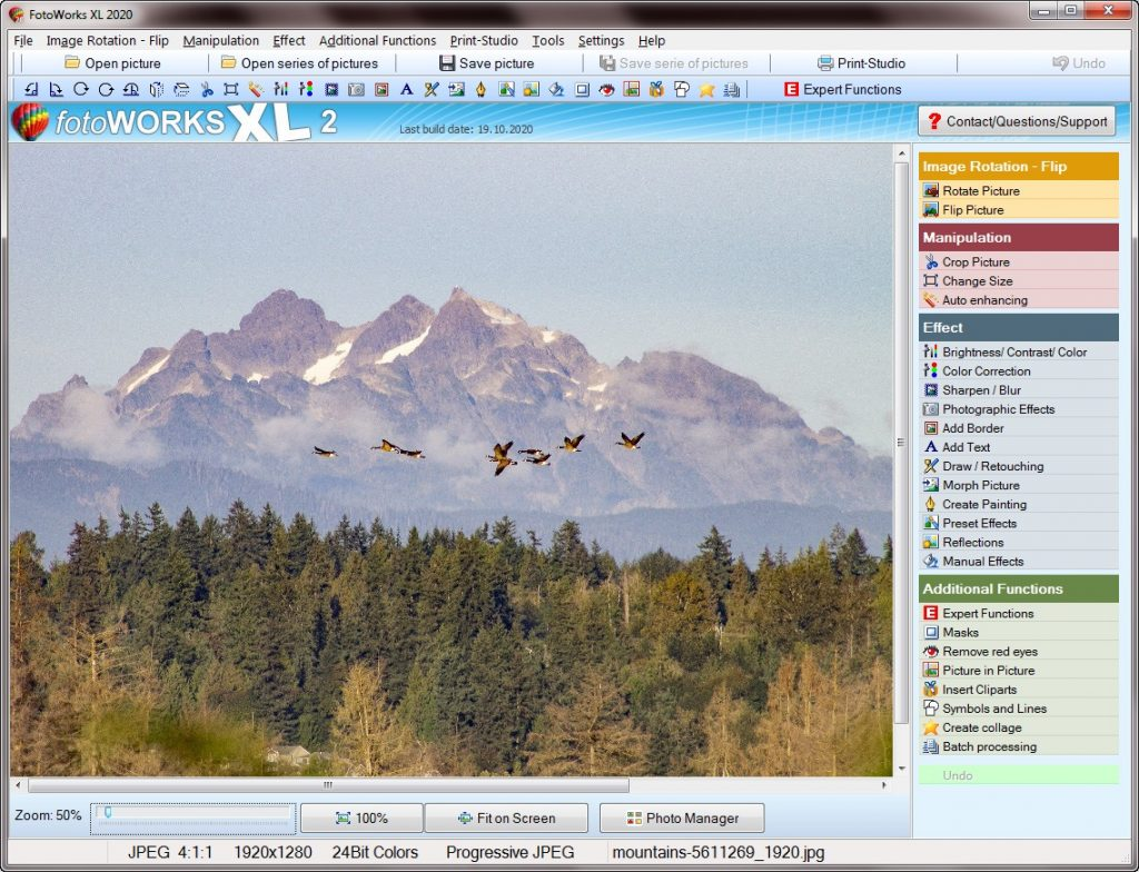 Photo software