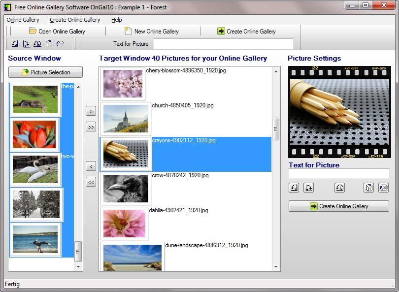 create online photo album